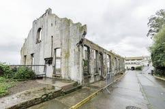 Alcatraz socjalny Hall, San Fransisco, Kalifornia Zdjęcie Stock