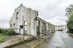 Alcatraz Sozial-Hall, San Francisco, Kalifornien Stockfoto