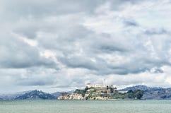 Alcatraz Before the Storm Royalty Free Stock Photo