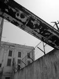 Alcatraz training yard Royalty Free Stock Image
