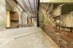 Alcatraz Underground tunnel, San Francisco, California Royalty Free Stock Photography
