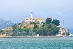 Alcatraz, United States. Alcatraz Island, San Francisco, United States Royalty Free Stock Images
