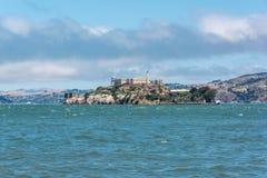 Alcatraz. A view of Alcatraz from the bay of San Francisco Royalty Free Stock Image