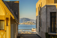 Alcatraz View Stock Photo