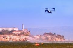 Alcatraz w San Fransisco Zdjęcia Royalty Free