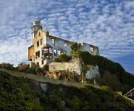 Alcatraz Warden Hus Arkivbilder