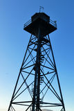 Alcatraz Watchtower Stock Images