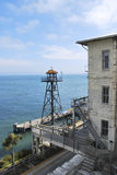 Alcatraz Watchtower Royalty Free Stock Photos