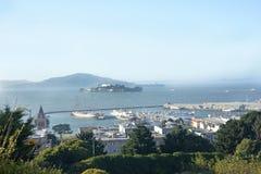 Alcatraz więzienie obraz stock