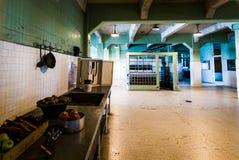 Alcatraz więzienia kuchnia Zdjęcia Stock