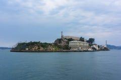Alcatraz więzienie Zdjęcia Royalty Free