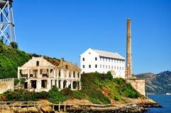 Alcatraz więzienie w San Fransisco, Kalifornia Zdjęcie Royalty Free