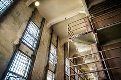 Alcatraz więzienie Windows Zdjęcie Royalty Free