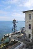 Alcatraz Wieża obserwacyjna Zdjęcia Royalty Free