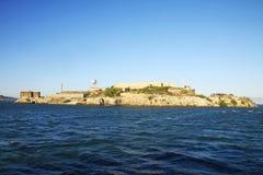 Alcatraz wyspa Obrazy Stock