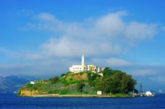 Alcatraz wyspa Obraz Royalty Free