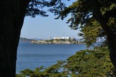 Alcatraz Wyspa Obraz Stock