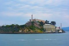 Alcatraz Wyspa Obrazy Royalty Free