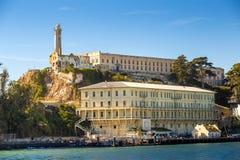 Alcatraz wyspy więzienie Obraz Stock