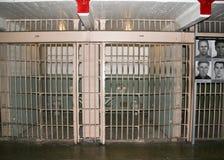 Alcatrazcellen Royalty-vrije Stock Foto's