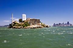 Alcatrazeiland Stock Foto