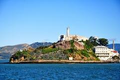 Alcatrazgevangenis in San Francisco, Californië Stock Foto