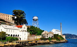 Alcatrazgevangenis in San Francisco, Californië Royalty-vrije Stock Afbeelding
