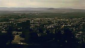 Alcazaba горизонта Альгамбра акции видеоматериалы