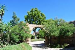 Alcazaba (крепость) в Альмерии, Андалусии Стоковая Фотография RF