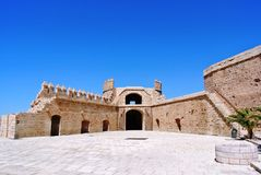 Alcazaba (крепость) в Альмерии, Андалусии Стоковое Изображение