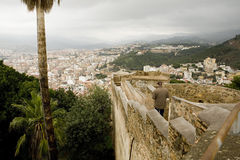 Alcazaba - Малага - Испания Стоковое Изображение RF