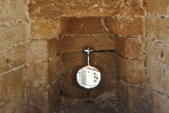 Alcazaba (堡垒)在阿尔梅里雅,安大路西亚 图库摄影