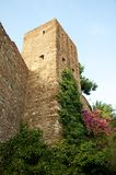 Alcazaba. Castle in Malaga, Spain Royalty Free Stock Image