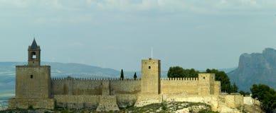 Alcazaba Fotografia Royalty Free