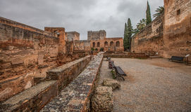 Alcazaba, Alhambra, Ισπανία Ι Στοκ Εικόνες
