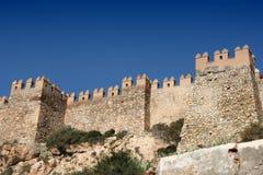 Alcazaba a Almeria Fotografia Stock