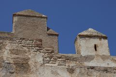 Alcazaba of Almeria Royalty Free Stock Images