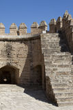 Alcazaba of Almeria Royalty Free Stock Photos