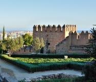 Alcazaba Almeria Stockfotografie