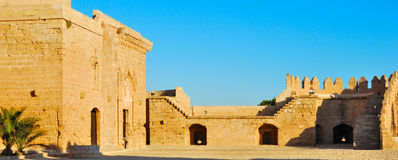 Alcazaba Almeria Stock Afbeeldingen