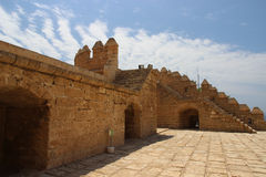 Alcazaba in Almeria; Andalucia; Spain Royalty Free Stock Image