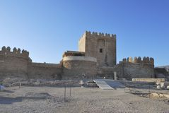 The Alcazaba of Almeria Royalty Free Stock Image