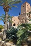 Alcazaba in Almeria - Spain. The front gate of alcazaba castle in Almeria city in Andalucia - Spain Stock Photography