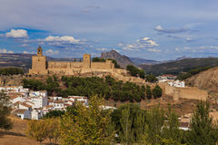 Alcazaba Antequera, Ισπανία Στοκ φωτογραφία με δικαίωμα ελεύθερης χρήσης