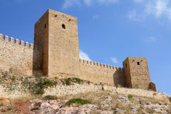 Alcazaba in Antequera Royalty Free Stock Photos