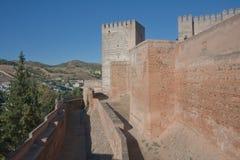 Alcazaba castle. Granada, Spain Royalty Free Stock Photography