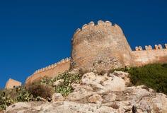 Alcazaba d'Almeria Images libres de droits
