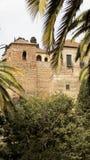 Alcazaba de Malaga-Andaluzia-Europa Fotografia de Stock Royalty Free