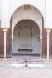 Alcazaba de Malaga, Espagne Photo stock