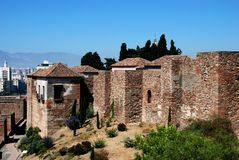Alcazaba de Malaga, Spain. Stock Images